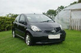Toyota, AYGO, £20 ROAD TAX LOW INSURANCE MOT 4 DECEMBER