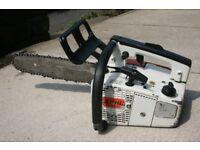 Petrol chainsaw STIHL 020 AV SUPER top handle chainsaw
