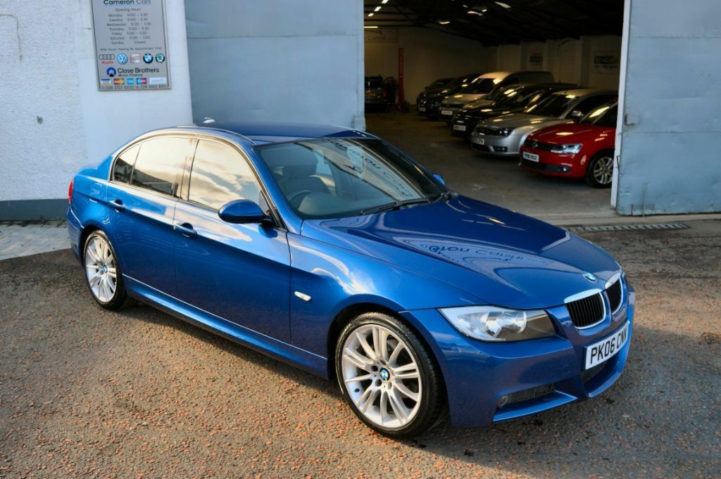 2006 bmw 320d m sport e90 le man blue fsh 2 keys immaculate example finance available not 330d. Black Bedroom Furniture Sets. Home Design Ideas