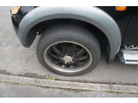 20 inch 6 stud 4x4 alloys and tyres