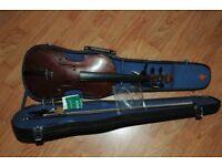 old Josef Kloz full sized violin