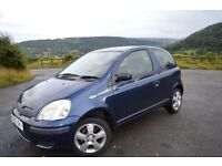 Lovely Toyota Yaris for sale 1.0l engine Low mileage