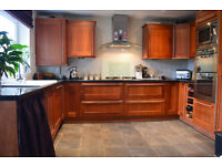 fitted kitchen including washing machine,dishwasher, hob, extractor, double oven, fridge freezer