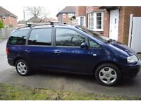2002 -SEAT Alhambra 7 Months MOT- Very good condition - 1.9 - TDI - 7 Seater
