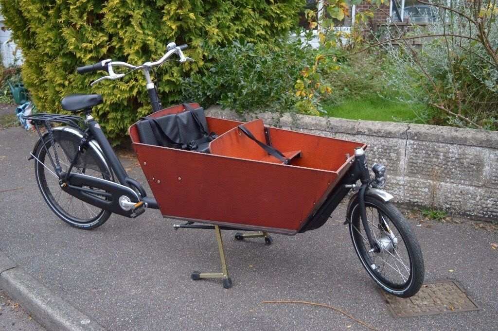 Bakfiets Cargo Bike Long Wheelbase In Cambridge