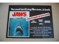 jaws ' original 1970s cinema poster