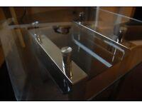 Glass coffee table - Original price: £400!