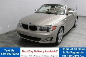 2012 BMW 128I CONVERTIBLE w/ EXECUTIVE PKG! NAVIGATION! LEATHER!