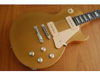 Gibson Les Paul 60's Tribute Gold Top with Gibson Tan Case
