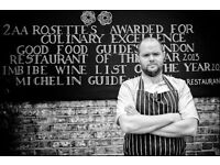 Junior Sous Chef - £27 - £29k - Charlotte's Place - 2AA Rosettes - Ealing Common