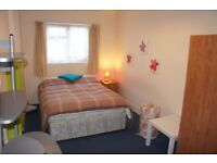 double availble in lovely italian place with garden , cleaner , tv , living room ecc