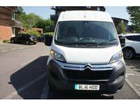 2016 CITROEN RELAY 35 HDI 130 L3 H2 ENTERPRISE LWB MEDIUM ROOF VAN LWB DIESEL A/C & SENSORS NO VAT