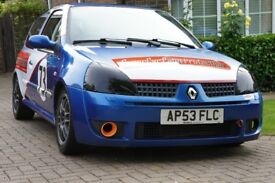 Renault Sport Clio 172 track day car