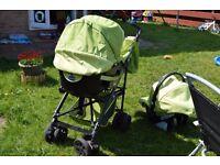 chicco pram buggy stroller 3 in 1