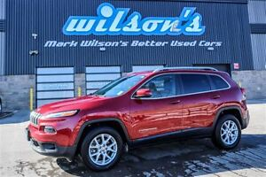 2016 Jeep Cherokee NORTH 4WD!  BLUETOOTH! ALLOYS! $78/WK, 5.49%