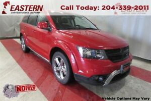 2017 Dodge Journey CROSSROAD AWD NAV SUNROOF 8.4 UCONNECT REMTE
