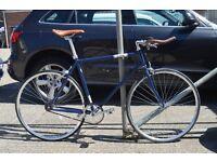 Brand new single speed fixed gear fixie bike/ road bike/ bicycles + 1year warranty & free service bu