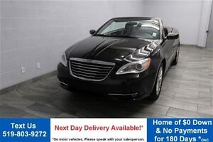 2013 Chrysler 200 CONVERTIBLE w/ BLUETOOTH! ALLOYS! POWER PACKAG