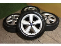 "Genuine FORD Focus MK2 16"" Alloy wheels 5x108 Mondeo Transit Connect Alloys"