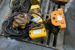 KITO 1 tonne Hoist with 2 tonne Trolley