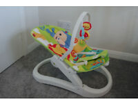 Fisher Price Rainforest folding bouncer