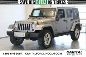 2013 Jeep WRANGLER UNLIMITED Sahara Convertible **New Arrival**