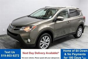 2013 Toyota RAV4 LIMITED AWD! NAVIGATION! LEATHER! SUNROOF! HEAT