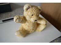 Ceramic teddy Bears (2) ex display.