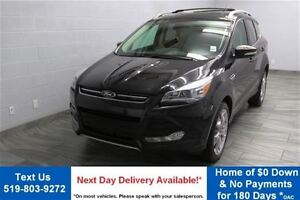 2014 Ford Escape TITANIUM 4WD 2.0L ECOBOOST! NAVIGATION! LEATHER