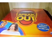 Speak out game sealed