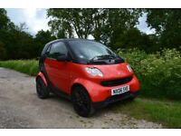Smart ForTwo-Perfect city car, or short commute, cheap to run and only £30 road tax