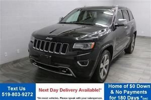 2015 Jeep Grand Cherokee OVERLAND DIESEL! 4WD w/ NAVIGATION! LEA