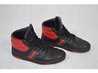 Mens GUCCI Ronnie padded high top trainers