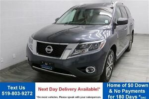 2013 Nissan Pathfinder SL 4WD w/ LEATHER! REVERSE CAMERA! POWER