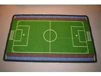 Child's football rug