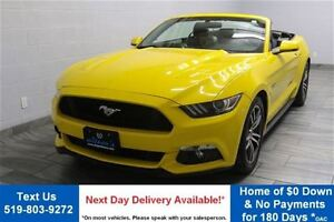 2015 Ford Mustang GT PREMIUM CONVERTIBLE 5.0L V8! NAVIGATION! LE