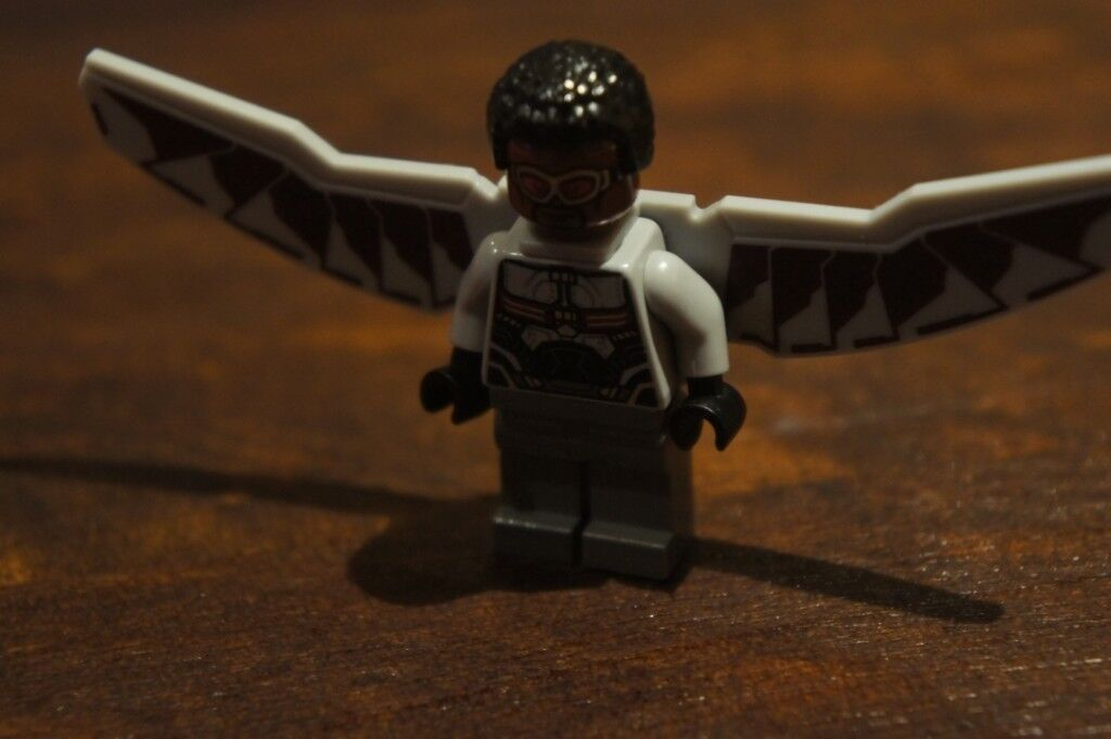Selling CUSTOM MADE Falcon lego Mini figure | in Bexleyheath, London |  Gumtree