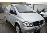 2009 MERCEDES BENZ VITO 111 CDI LONG LWB IN GOOD CONDITION WITH MOT UNTIL APRIL 2017