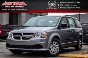 2017 Dodge Grand Caravan NEW Car CVP|A/C w/DualClimate|KeylessEn