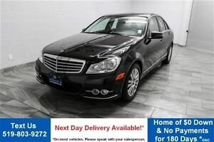 2012 Mercedes-Benz C-Class 4MATIC AWD w/ LEATHER! HEATED SEATS!