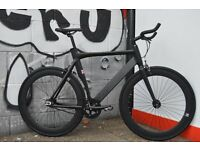 Brand new single speed NOLOGO ALUMINIUM fixed gear fixie bike/ road bike/ bicycles wo