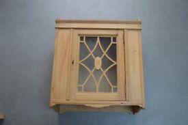 Wooden Wall Cabinet / Cupboard