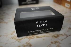 Fujifilm X-T1 Leather Half Case BLC-XT1