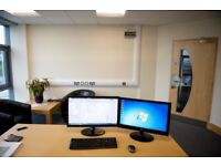 Do you want to rent a desk in a co working space.