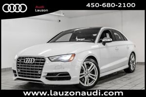 2015 Audi S3 TECHNIK PHARE LED NAVIGATION CAMERA