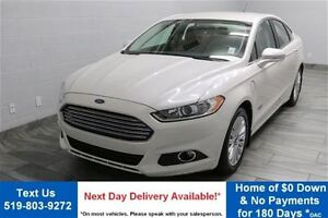 2013 Ford Fusion Energi HYBRID w/ NAVIGATION! LEATHER! HEATED SE