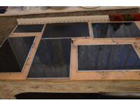 LOT OF 6 LAPTOP LCD SCREENS