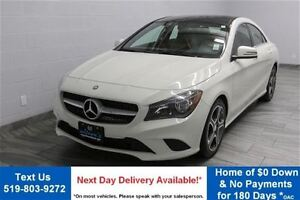2016 Mercedes-Benz CLA250 4MATIC w/ NAVIGATION! SUNROOF! LEATHER