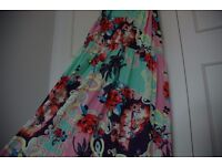 Pretty Summer dress Size L River Island NEW with TAGS RRP: £38.00