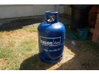 15kg Butane gas cylinder part filled. Ideal for camping or Gas BBQ